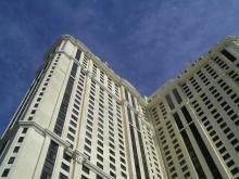 Las vegas strip hotel location