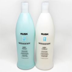 Rusk Sensories Calm Guarana and Ginger Nourishing Shampoo and Conditioner by…
