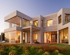 Modern with lots of windows!
