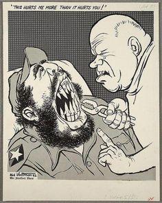 Cuban missile crisis cartoon
