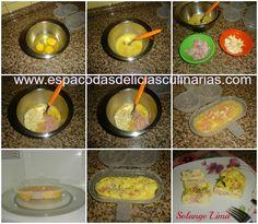 Omelete de presunto e queijo de microondas Eggs, Breakfast, Ham And Cheese, Omelettes, Egg As Food, Recipes, Meals, Morning Coffee, Egg