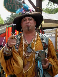 Colorful Actor - Renaissance Faire.