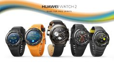 Huawei's new Android Wear watches are big, chunky, and fitness focused