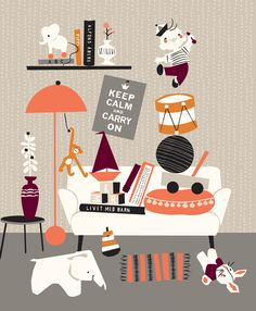 Darling Clementine - Illustration - Agent Molly & Co