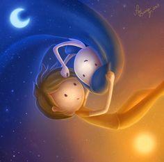 sol y luna - Buscar con Google