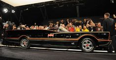 The original 1955 Lincoln Futura concept—that George Barris turned into the Batmobile for the TV show—sold at the Barrett-Jackson auction in Scottdale, Ariz. Original Batmobile, Vintage Cars, Antique Cars, Adam West Batman, Barrett Jackson Auction, Cool Gear, Automotive News, Fast And Furious, Classic Man