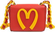 Moschino Small Moschino Fast Food Bag