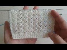 Baby Sweater Knitting Pattern, Knitting Stiches, Easy Knitting Patterns, Knitting Videos, Knitting For Beginners, Knitting Designs, Free Knitting, Baby Knitting, Crochet Patterns