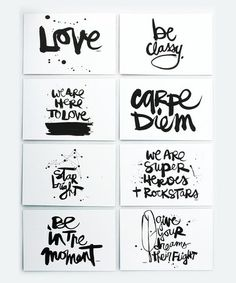 We are here to love. Yes. :: Kal Barteski Note Card Set by DENY Designs