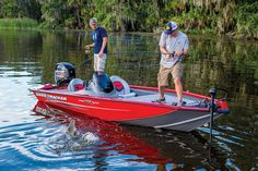 TRACKER-exclusive all-welded Revolution™ hull w/Smooth Ride Guarantee™ & Power-Trac™ set-back transom http://www.exclusiveautomarine.com/product/pro-team-175-txw