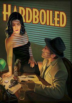 Portada de nuestro nuevo juego, Hardboiled