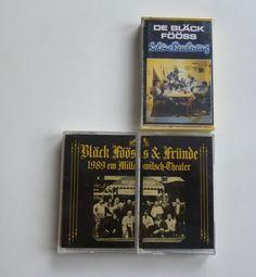 3 Musikkassetten / De Bläck Fööss & Fründe LIVE 1989 / Schöne Bescherung 1985