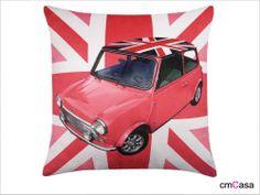 cmCasa[3225]18x18 Inch Velvet Decorative Throw Pillow Cover Cushion Case, British Flag MINI Car cmCasa http://www.amazon.com/dp/B00IUCX0NY/ref=cm_sw_r_pi_dp_UROOtb1M5BFG0AFK
