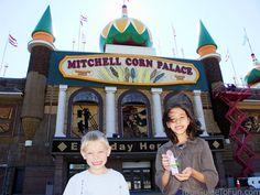 Mitchel Corn Palace in Mitchell, South Dakota.  http://www.tourguidetofun.com/badlands-national-park/  #cornpalace, #mitchellcornpalace