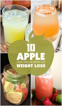 Apple Cider Vinegar Drinks for Weight Loss