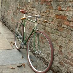 """Tweed"" vintage Coaster brake bicycle by Ferrivecchi cicli"