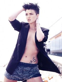 Ruby Rose. One of the hottest women on the planet!