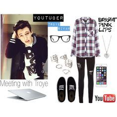 На встречу с Троем!! by dashareus on Polyvore featuring мода, Rails, Vans, Finn, Forever 21 and Muse