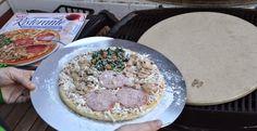 Ruokaunelmia: Pizzaa grillissä osa 1 (kokeilua ja tuunausta)