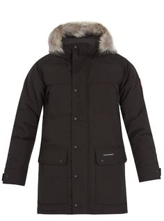 Canada Goose Camp Hooded plata