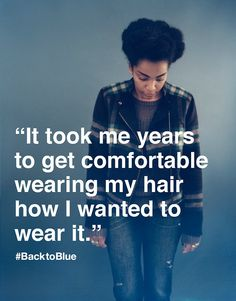 "GAP: ""It Took Me Years To Get Comfortable In Wearing My Hair In How I Wanted To Wear It"""