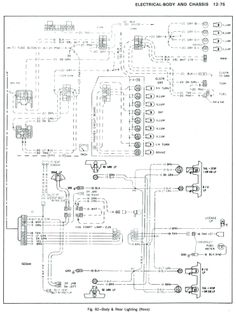 85 chevy truck wiring diagram chevrolet truck v8 1981 1987 rh pinterest com Tail Light Wiring Color Code Yukon Tail Light Wiring Harness