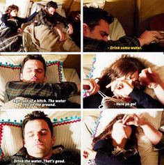 "#NewGirl S3 Ep20 ""Mars Landing"" - Nick and Jess"