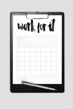 30 Day Motivation Plan Freebie