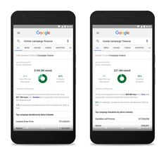 """Google puts presidential campaign finance information and more directly in search -  Just in time for """"Mega Tuesday,"""" Google has rolled out new features to Google Search that will allow you to better track the primaries and learn more about the candidates. One new additionprovides easy-to-understand campaign finance information, so you can see things ... 