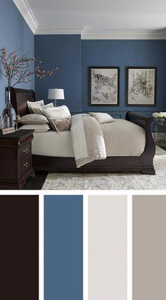 color of the month midnight show bedrooms pinterest bedroom rh pinterest com Calming Paint Colors for Bedrooms Pink Paint Colors for Bedrooms