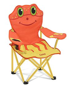 Look at this Melissa & Doug Personalized Clicker Crab Chair on #zulily today!