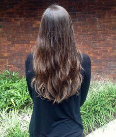ombrehair cabelos castanhos