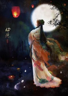 """A Goddess religion should be out in the open, not underground as it is right now. A Goddess religion would cause men to look at women differently. Walker, Restoring the Goddess: Equal Rites for Modern Women Chinese Painting, Chinese Art, Painting Art, Paintings, Diy Art, Art Asiatique, Art Japonais, Moon Goddess, Goddess Art"