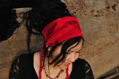 Hippie Headband Festival Clothing LITTLE by IntergalacticApparel