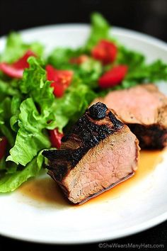 Grilled Pork Tenderloin Recipe @FoodBlogs