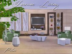 SimControl: Tarmac Living by Pilar • Sims 4 Downloads
