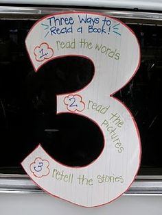 Daily 5 - 3 Ways to Read a Story