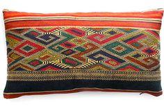 Geometric Skirt Pillow    $99.00