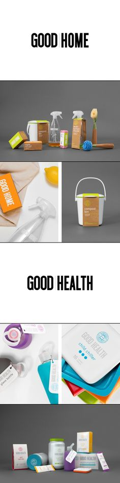 The Good Store | Herrera, Carriedo, Giboin, Huang. Here's to your health #identity #packaging #branding PD