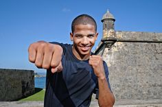 Boxing phenom, FELIX VERDEJO training hard for his upcoming fight in Philly!