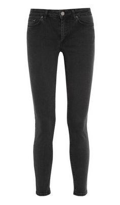 ACNE Mid-Rise Skinny Jeans