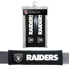 OAKLAND RAIDERS SEATBELT PADS SHOULDER PROTECTOR BRAND NEW NFL #NFL #OaklandRaiders