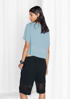 & Other Stories | Cropped Panel Top