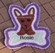 Instand Download Crochet pattern  Chihuahua by poshpoochdesigns