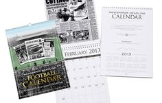 This Fulham Football Calendar is a unique Calendar gift idea for a football fan.  On each month of this Calendar, we feature a newspaper report from one of Fulham's key games.  For over 50 clubs, these Football Calendars relive the rich history of your club with newspaper reports featured on each month of the Calendar, rekindling nostalgic memories of your favourite team across the years. #fulham #fulhamfc #fulhamfcgifts #footballgifts #football #giftsforhim #giftsforteens #cottagers