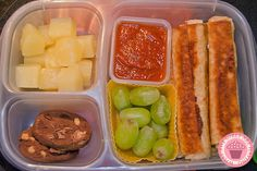 Day 496 - Grilled cheese sticks!  These are one of D's all time favorites!  I always know that her lunch box will come home clean when I m...