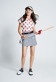 キャロウェイアパレル(Callaway Apparel) レディスコーディネート3   GDOゴルフショップ Mens Golf Fashion, Golf Wear, Hole In One, Golf Outfit, Ladies Golf, Creative Design, Tennis, Beautiful Women, Layout