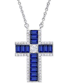 Crislu sterling platinum cubic zirconia cross pendant necklace crislu sterling platinum cubic zirconia cross pendant necklace httpdesignerjewelrygalleriacrislucrislu sterling platinum cubic zirconia aloadofball Image collections