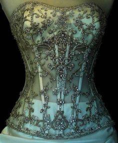 Daiquiri corset with jewels