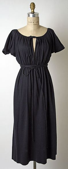 Wool Dress by Claire McCardell for Townley Frocks, 1946